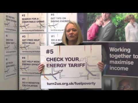 Cathy Jamieson, MP supports Turn2us Fuel Poverty campaign