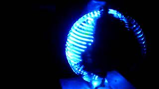 Persistence of vision LED globe