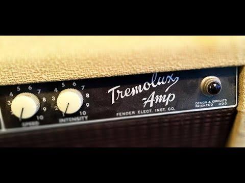 The Blonde Fender Tremolux