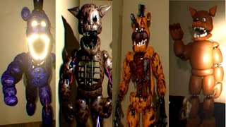 Shadow of Your Nightmare EXTRAS (All Animatronics)