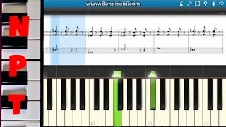 All Of Me Piano Cover with Sheet Music - John Legend - Synthesia Tutorial