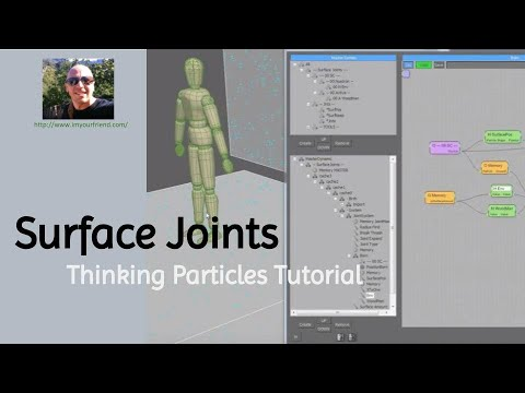 Will Wallace thinkingParticles - Surface Joints Tutorial _
