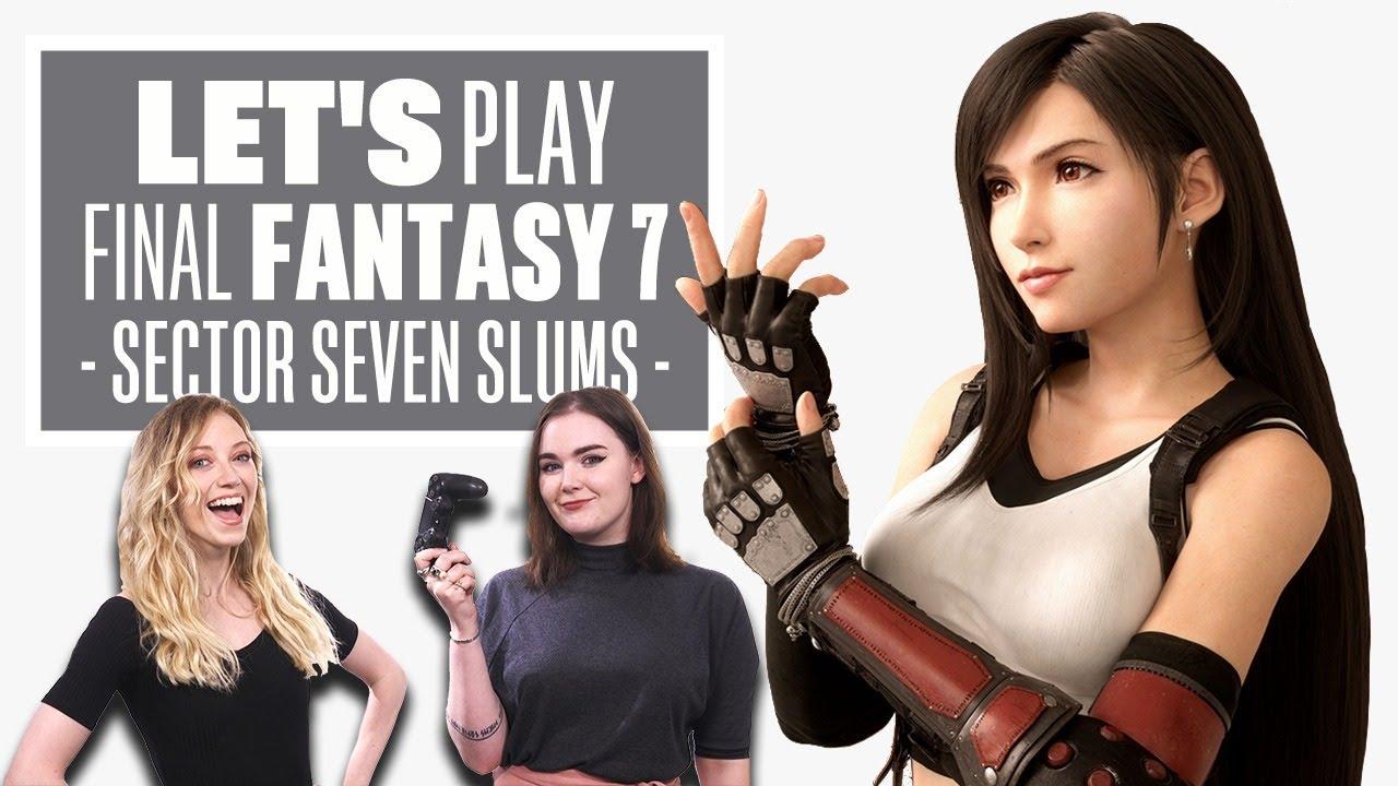 Let's Play Final Fantasy 7 Remake Episode 2 thumbnail