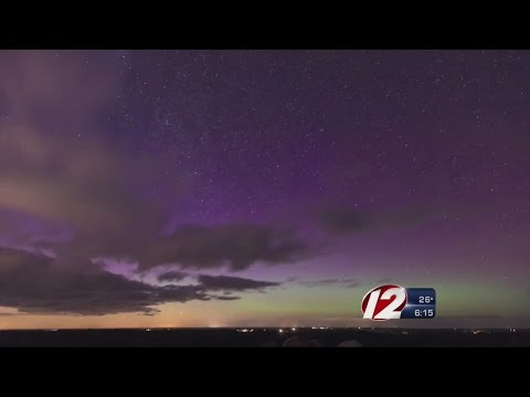Northern Lights Visible in New England