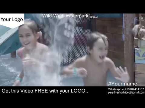 Dubai Wild Wadi –  Get it with your LOGO – FREE
