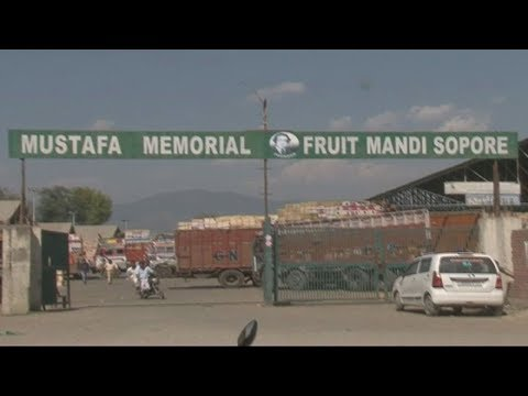 Now Water Scarcity hits Sopore Fruit Mandi