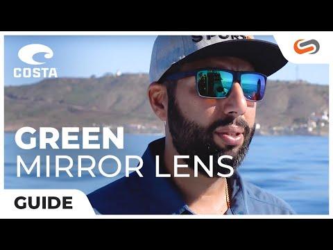 Costa Green Mirror Lens Explained | SportRx.com