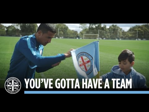 YOU'VE GOTTA HAVE A TEAM: Yoshi's day at Melbourne City