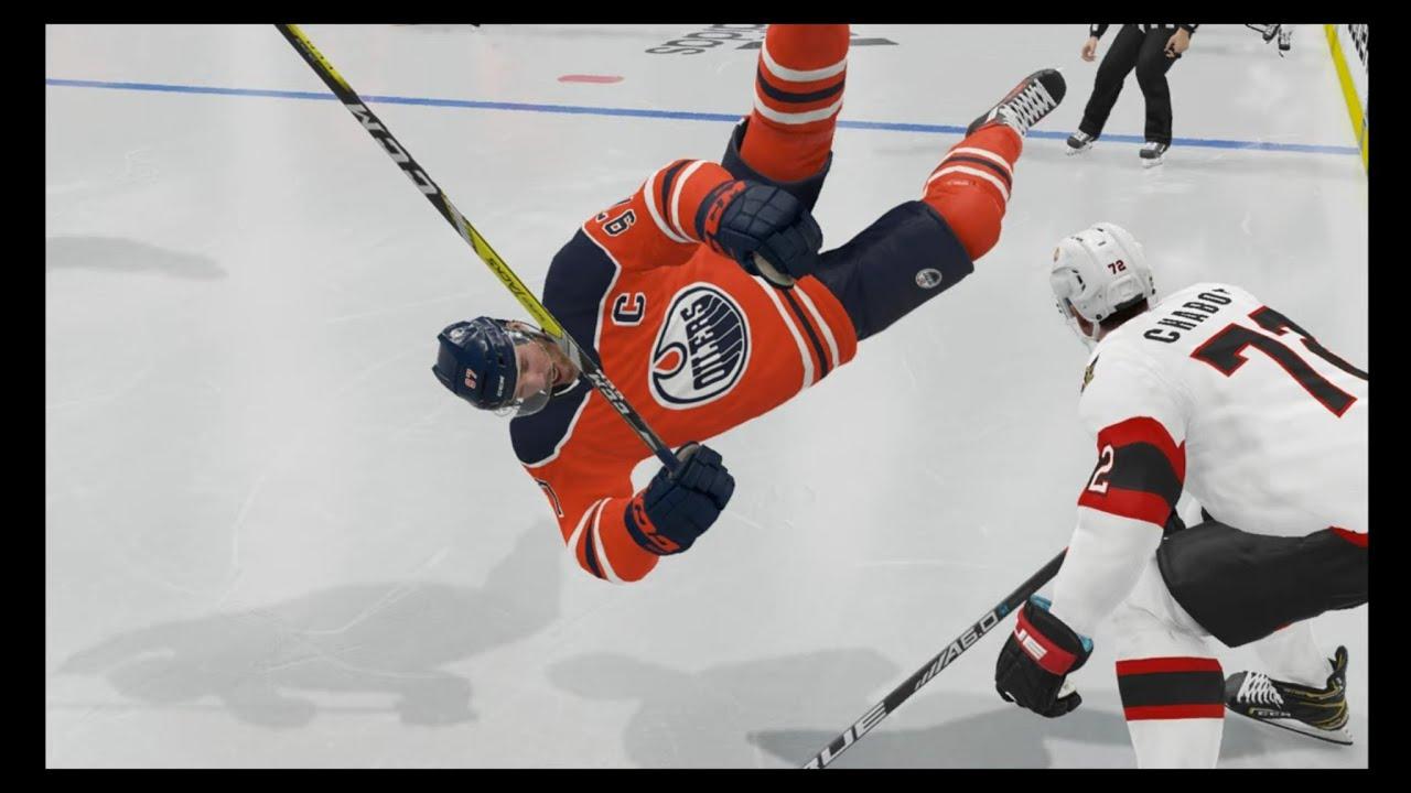 NHL 21 big hits and injuries (Part 1)