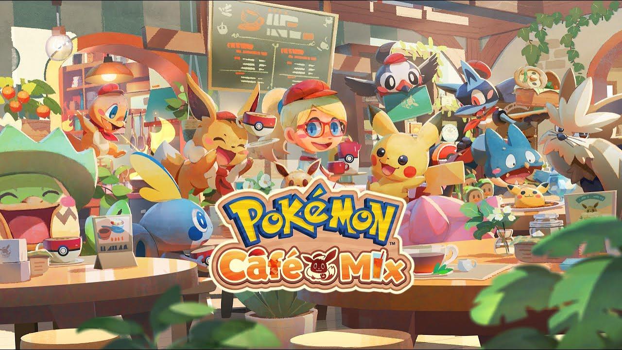 公式】くるくるつなげるパズル『Pokémon Café Mix』初公開映像 - YouTube