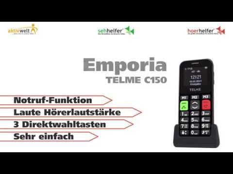 Seniorenhandy Emporia TELME C150