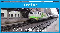 Train videos: April-May 2015