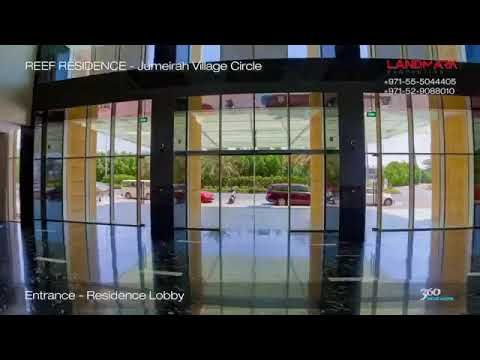 JVC Dubai – 2 Bedroom with Private Terrace & Pool Access – Reef Residence – Dubai Apartments Luxury