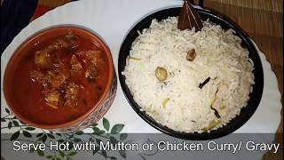 Plain Ghee Rice / Guests Serving Recipe / Easy and Tasty