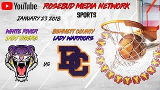 White River Lady Tigers vs Bennett County (Girls)