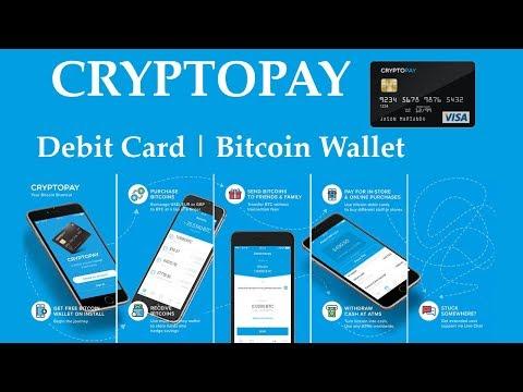 Cryptopay - Free Bitcoin VISA Debit Card - NEW!