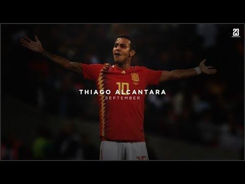 Thiago Alcantara • September   18/19