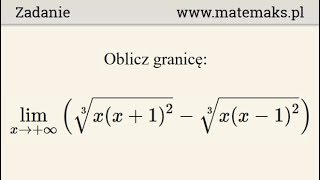 """Granica nieoznaczona i notacja O(h) (""""O Duże"""")"""