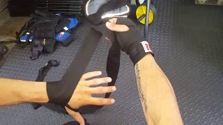 "HOW TO WRAP HANDS FOR BOXING 108"" 180"" 3 WAYS TO WRAP YOUR HANDS"