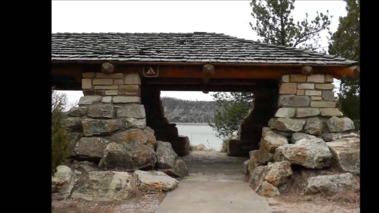 Guernsey state park stop 5 rustic architecture youtube for Rustic architecture