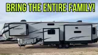 BIG Mid Bunk Fifth Wheel RV!  Elkridge 38MB
