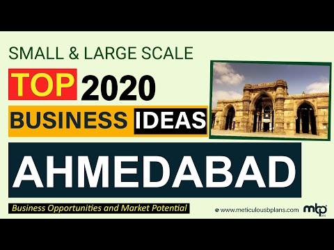 AHMEDABAD BUSINESS OPPORTUNITIES [TOP 20 Profitable, Innovative BUSINESS IDEAS Analyze by Experts]