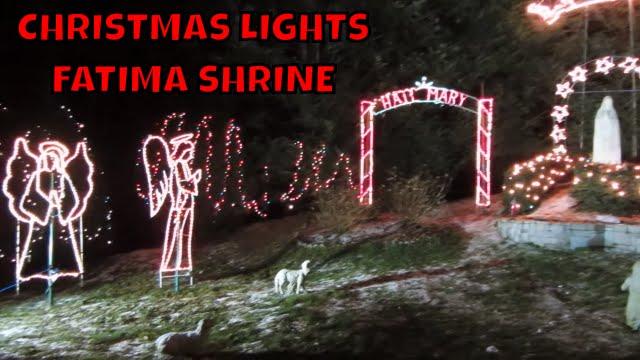 Fatima Shrine Holliston Ma Christmas Lights 2020 Fatima Shrine Christmas Lights ~ Holliston Ma   YouTube