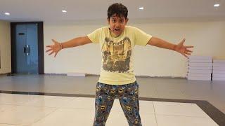 Khalibali song dance steps junior student ( mehul ) by NHC