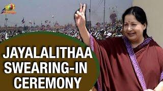 J Jayalalitha sworn - in as Tamil Nadu CM for 5th time   Rajinikanth