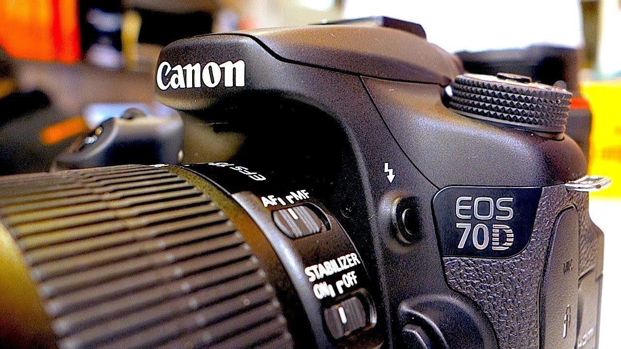 Canon eos 70d what info is in the box - YouTube