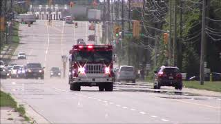 Pickering Fire Responds 2 car Accident