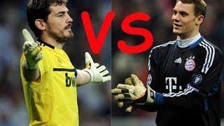Iker Casillas VS Manual Neuer ● WHO TAKES IT ?