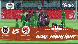 Bali United (2) vs Kalteng Putra (1) - Goal Highlights | Shopee Liga 1