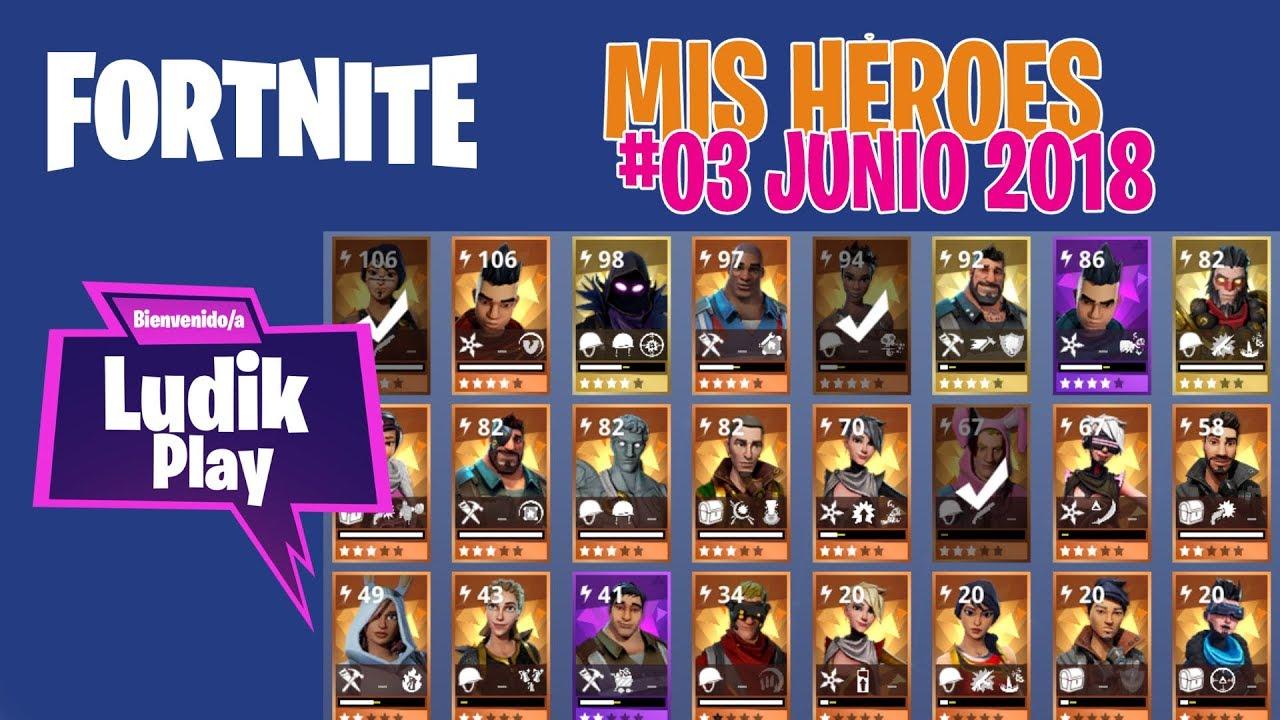 #03 MIS HÉROES JUNIO (CUERVO, TAQUILLAZO) | FORTNITE SALVAR EL MUNDO | Gameplay español