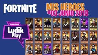 #03 MY JUNE HEROES (BODY, TAQUILLAZO) FORTNITE SAVE THE WORLD Spanish Gameplay