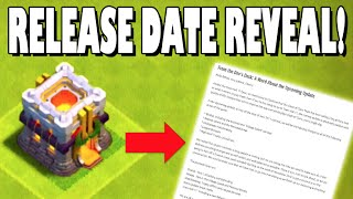 Clash of Clans - TOWN HALL 11 UPDATE RELEASE DATE REVEAL! Clash of Clans New Update