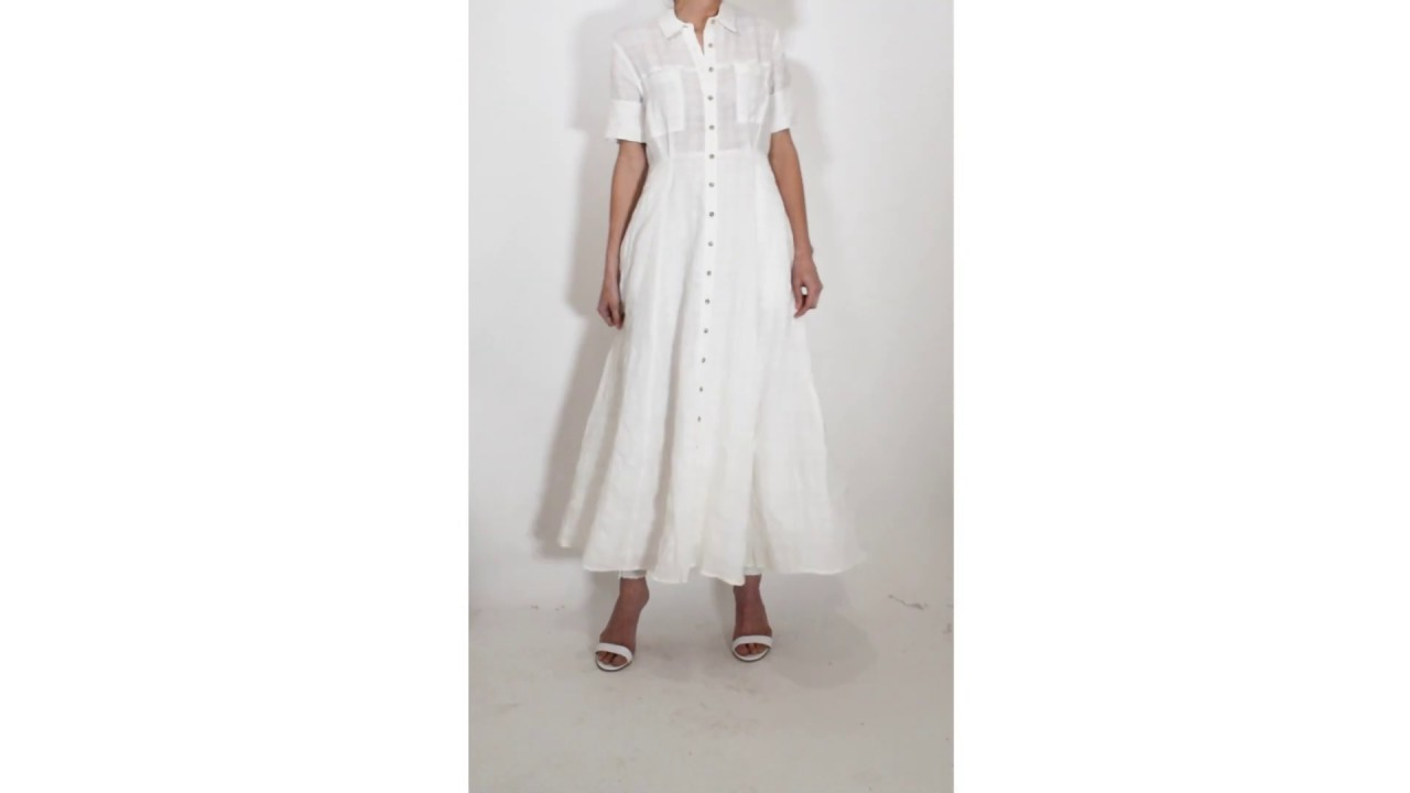 c492a8b06396 Mara Hoffman Lorelei Dress in White