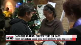 Catholic Church shifts tone on gays, lesbians   가톨릭, 동성애·이혼 포용 입장 시사