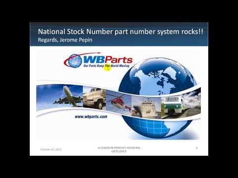 National Stock Number System