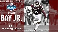 Willie Gay Jr. 2020 NFL Draft Profile