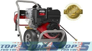 Top 5 Best 4000 PSI Gas Pressure Washer for 2019