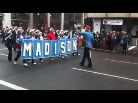 Macy's Parade 2011-Madison High School Portland, Oregon