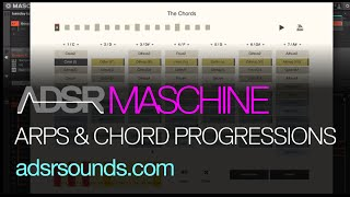 Maschine Tutorial - Arpeggiated Patterns and Chord Progressions with Maschine and Sundog