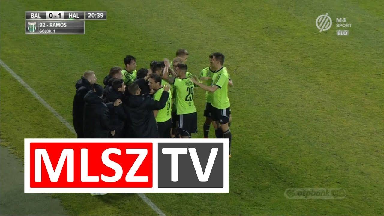 Bouard Ramos Myke gólja az Balmaz Kamilla Gyógyfürdő – Swietelsky Haladás mérkőzésen