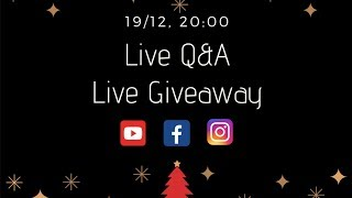Live Q & A Live Giveaway | Kitchen Lab by Akis Petretzikis