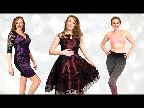 Amazing Textures! Live Try On Fashion Haul & Binaural Sounds for Sleep, Rosegal Dresses, Fitness