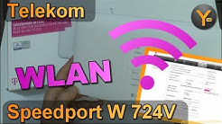Telekom Speedport W724V: WLAN von A bis Z