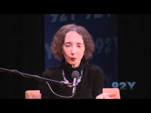 Joyce Carol Oates with Henri Cole at 92nd Street Y