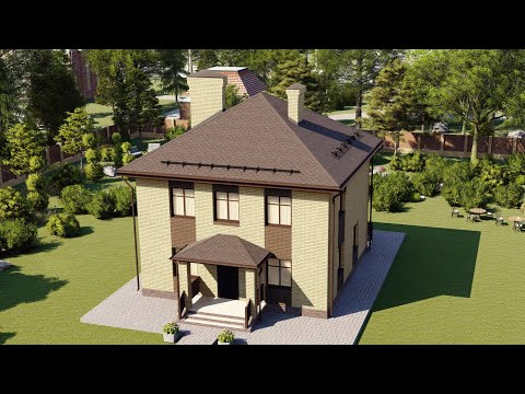 Проект дома с удобной планировкой 120 м2