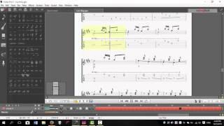 Lưu Thủy - Tạ Tấn chuyển soạn - Guitar Pro 6
